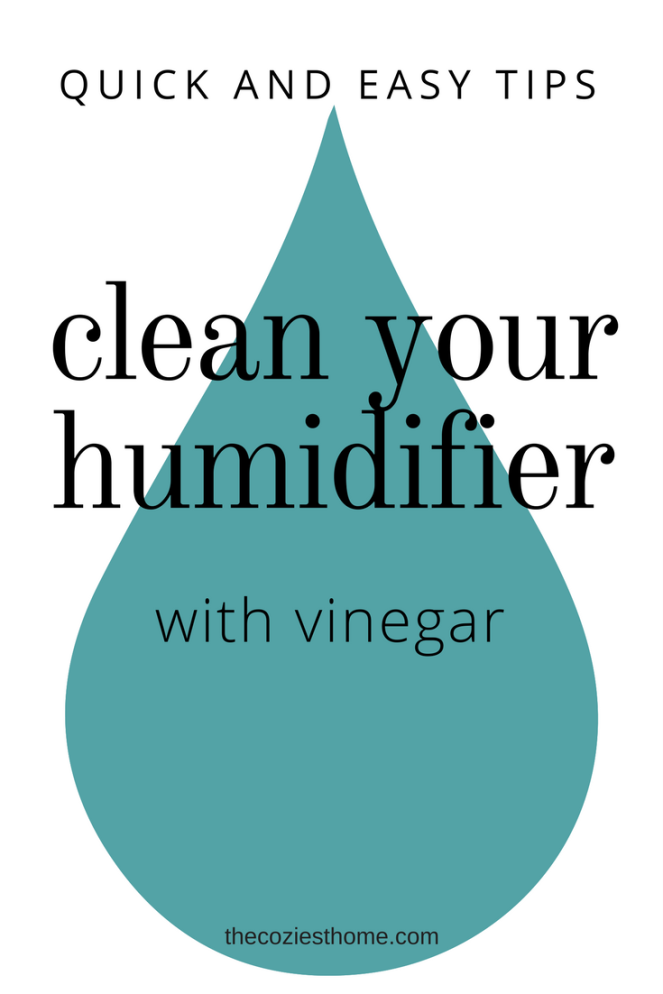clean your humidifier pinterest